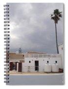 Snow White Cyprus  Spiral Notebook