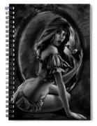 Snow White Spiral Notebook