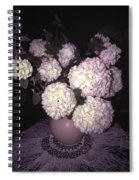 Snowball Bouquet Spiral Notebook