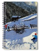 Snowballers Spiral Notebook