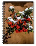 Snowberries Spiral Notebook
