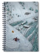 Snowbird Steeps Spiral Notebook