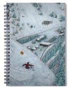 Snowbird Steeps Spiral Notebook