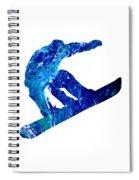 Snowboarder Spiral Notebook