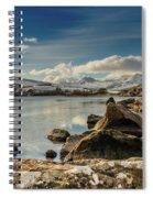 Snowdon From Llynnau Mymbyr Spiral Notebook