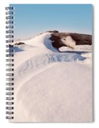 Snowdrift  Spiral Notebook