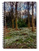 Snowdrop Woods 2 Spiral Notebook