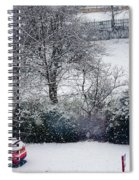 Snowfall 1 Spiral Notebook