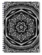 Snowflake 6 Spiral Notebook