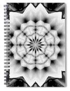 Snowflake 9 Spiral Notebook
