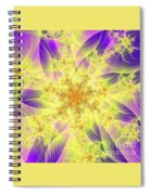 Snowflake Spiral Notebook