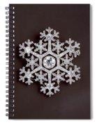snowflake II Spiral Notebook