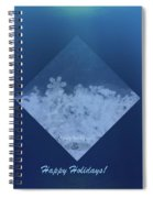 Snowflake Jewel Spiral Notebook