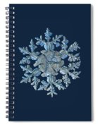 Snowflake Photo - Gardener's Dream Spiral Notebook