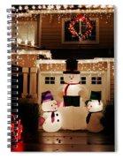 Snowman Spiral Notebook