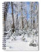 Snowscape Spiral Notebook