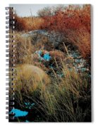 Snowy Field Spiral Notebook