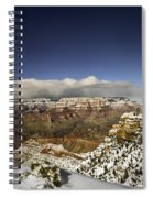 Snowy Grand Canyon Spiral Notebook