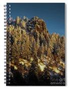 Snowy Hobart Bluff  Spiral Notebook