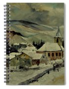 Snowy Landscape 780121 Spiral Notebook