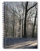 Mystical Winter Landscape Spiral Notebook