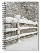 Snowy Morning Spiral Notebook