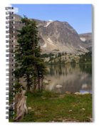 Snowy Mountain Loop 1 Spiral Notebook