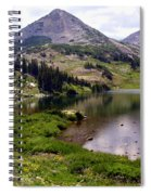 Snowy Moutain Loop 7 Spiral Notebook