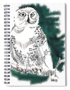 Snowy Owl II Spiral Notebook