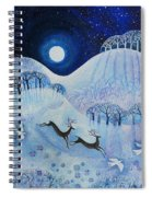 Snowy Peace Spiral Notebook