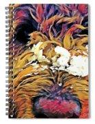 Snowy Pup Spiral Notebook