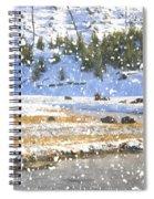 Snowy River Spiral Notebook
