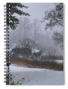 Snowy Road 2 Spiral Notebook