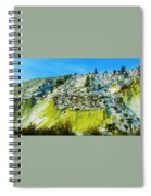 Snowy Rock Mountain Spiral Notebook