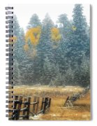 Snowy Silence Spiral Notebook