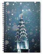 Snowy Spires Spiral Notebook