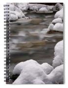 Snowy Stickney Brook Spiral Notebook