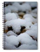 Snowy Stones Spiral Notebook