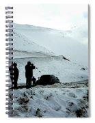 Snowy Switchbacks On Pikes Peak Spiral Notebook