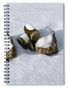 Snowy Zen Spiral Notebook