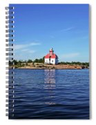 Snug Harbour Lighthouse Spiral Notebook