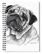 Snuggly Puggly Spiral Notebook