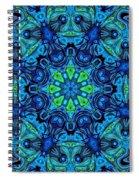 So Blue - 04v2 - Mandala Spiral Notebook