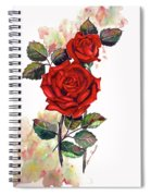 So Red Spiral Notebook