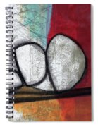 So We Begin- Abstract Art Spiral Notebook