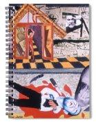 Soap Scene # 9 Med Ned Likes People Dead Spiral Notebook