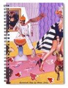 Soap Scene #20 Galleria Symbiosis Spiral Notebook