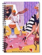 Soap Scene #20 Galleria Symbiosis Spiral Notebook