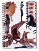 Soap Scene #22 Lust In The Wind Spiral Notebook