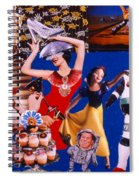 Soap Scene #23 Oscar's Kiss Of Success Spiral Notebook